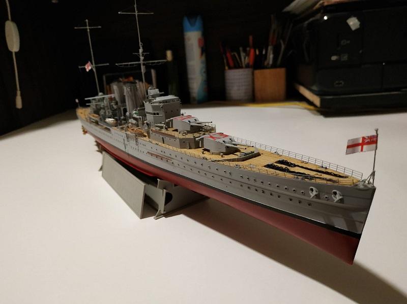 HMS Exeter a 1/350 de Trumpeter Part0011