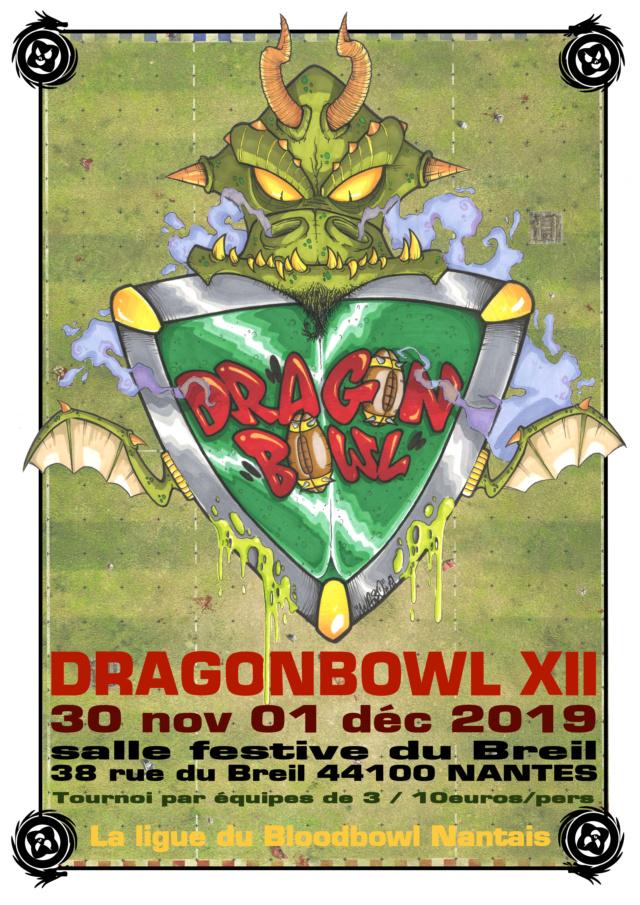 DragonBowl XII - 30/11 & 1er Décembre 2019 (Nantes) Affich10