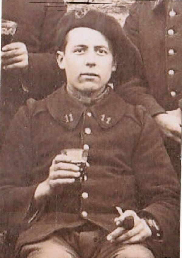 Victor Eustache, chasseur du 11° BCP. 1112
