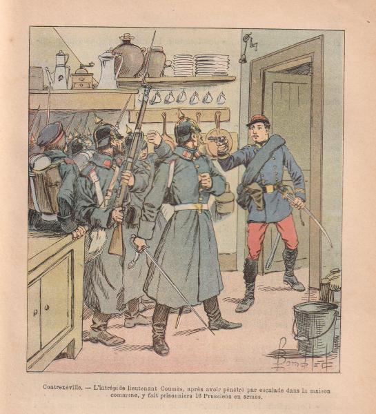 Corps francs de chasseurs - 1870 187011