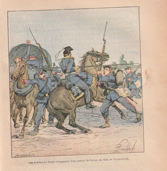 Corps francs de chasseurs - 1870 1870110