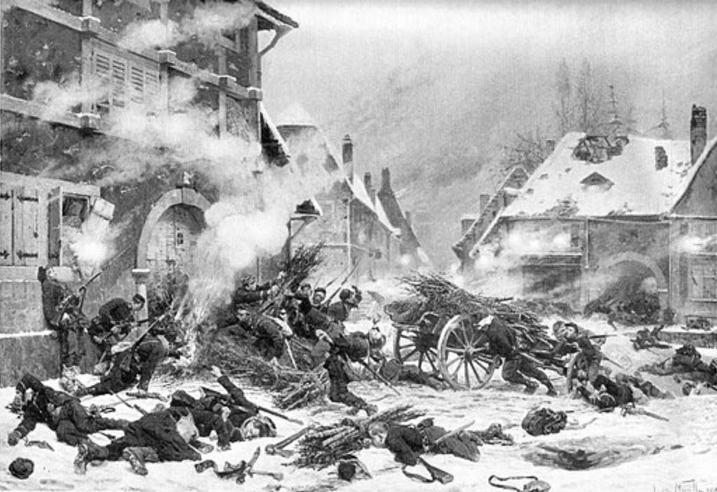 """Il y a 150 ans, 1870, une guerre """"oubliée"""" ! 1870w10"""
