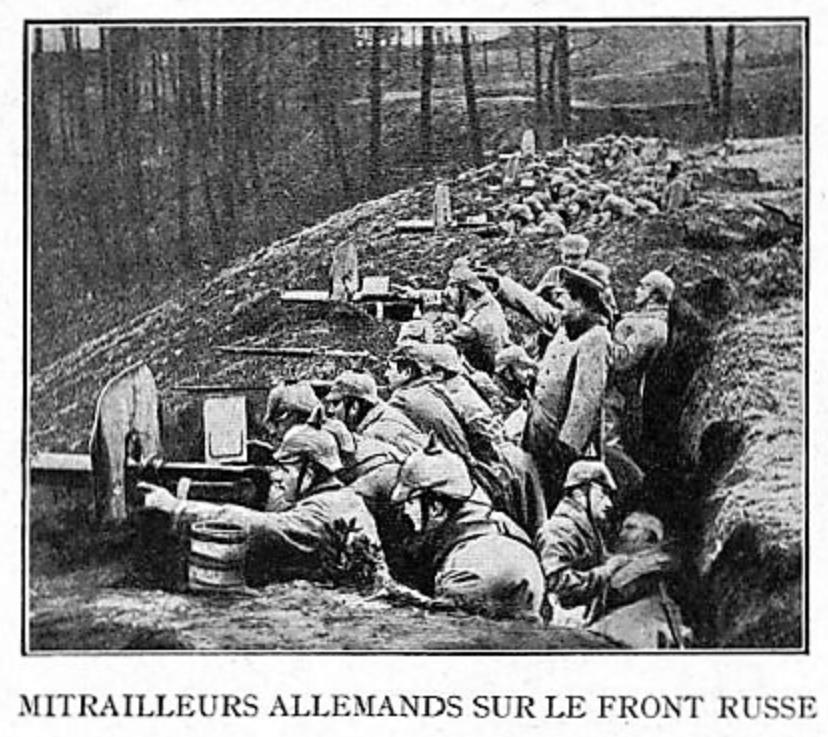 Photos inédites de la grande guerre. 910
