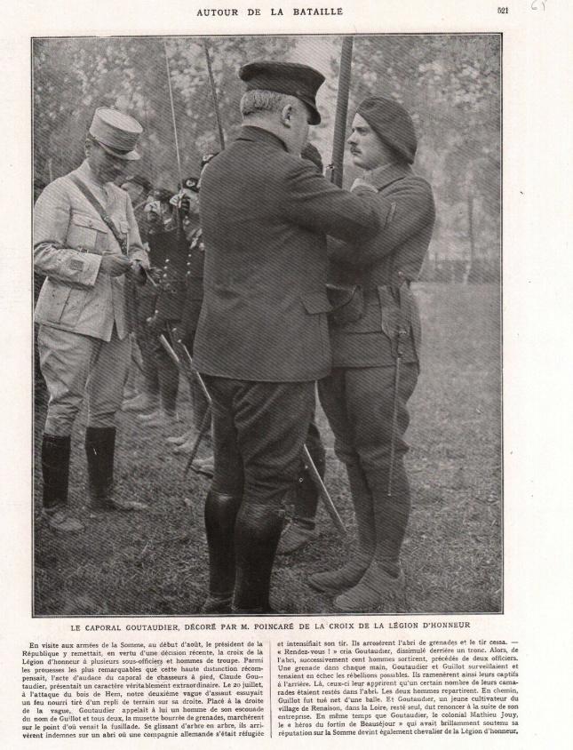 Simples soldats et la Légion d'honneur. Cg110
