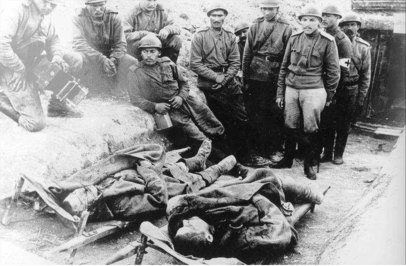 16 septembre 1917 il y a 103 ans, les mutins de La Courtine! Court610