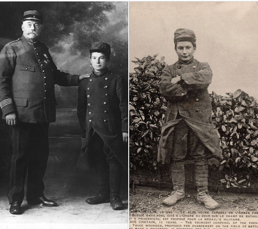 Les enfants-soldats de la Grande guerre. Gc110