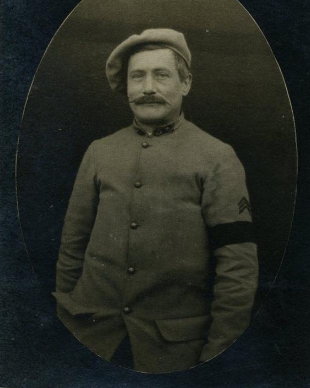 Georges Pageix Médecin-major au 46° et 6° BCA. Gp11