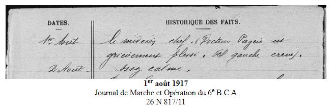 Georges Pageix Médecin-major au 46° et 6° BCA. Gp2210