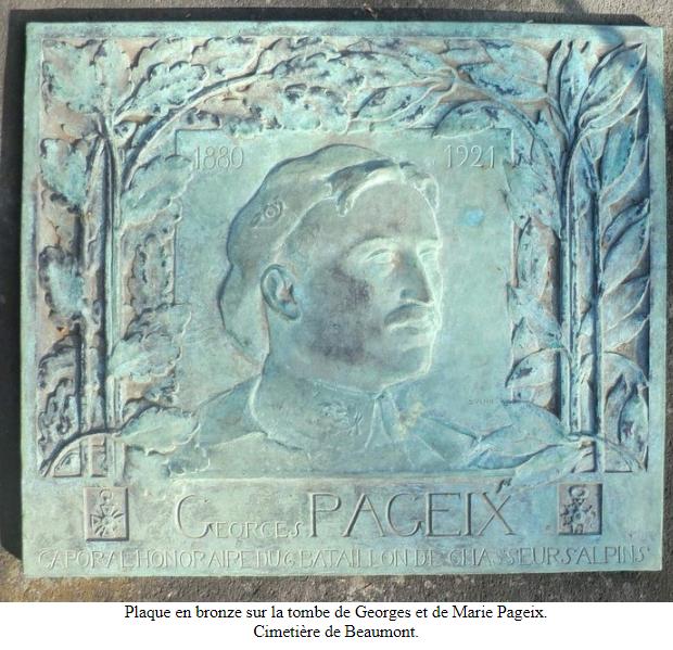 Georges Pageix Médecin-major au 46° et 6° BCA. Gp2510