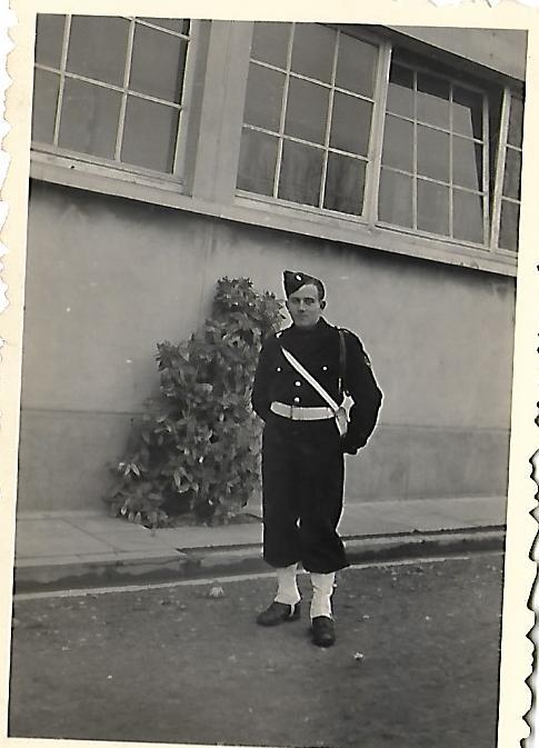 Pierre Borne musicien au 1er BCP. Papy_115