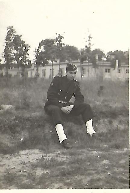 Pierre Borne musicien au 1er BCP. Papy_117