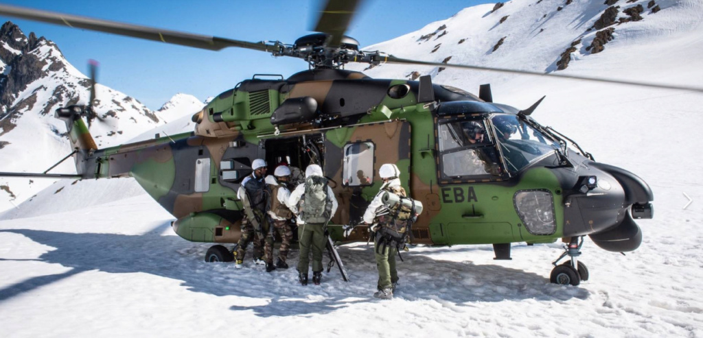 Qu'est-ce qui caractérise les troupes de montagne ? Tm110