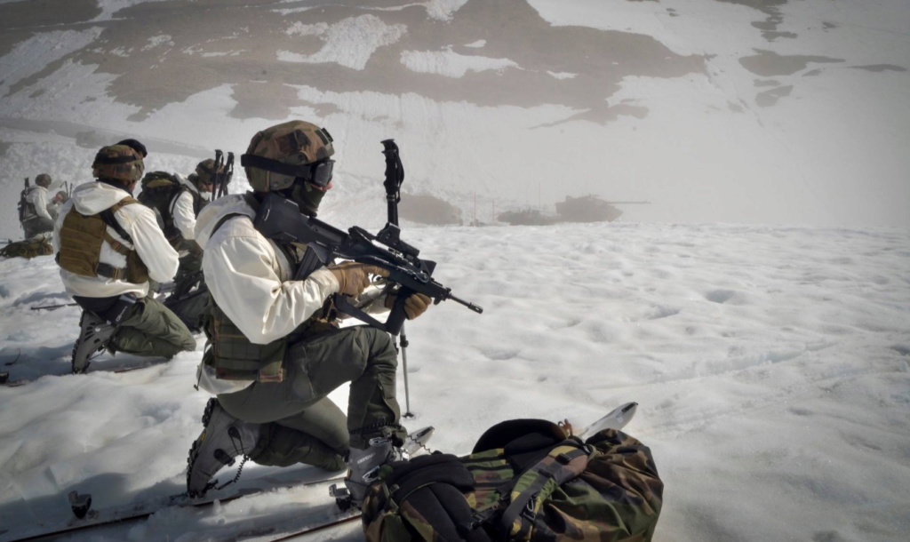 Qu'est-ce qui caractérise les troupes de montagne ? Tm310