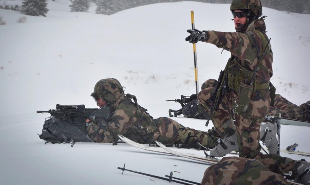 Qu'est-ce qui caractérise les troupes de montagne ? Tm810