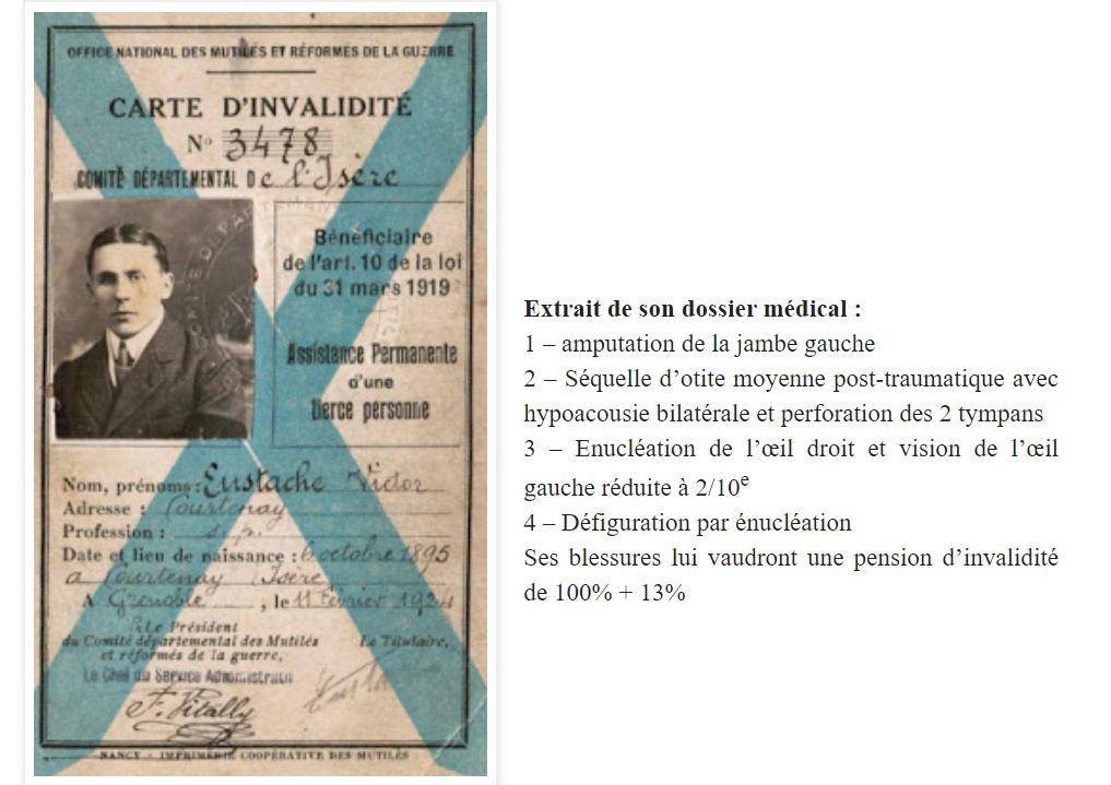 Victor Eustache, chasseur du 11° BCP. Ve1110