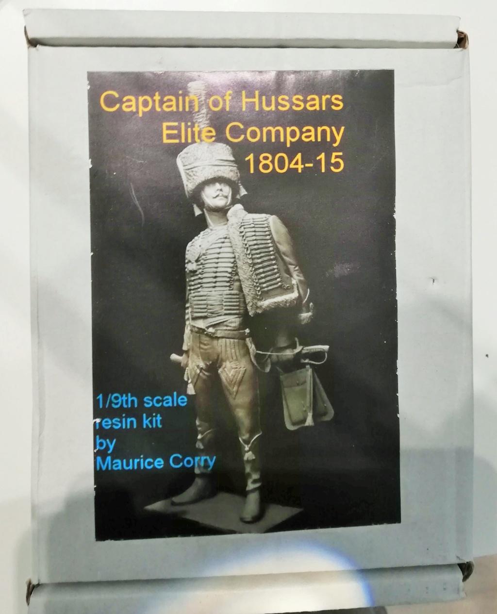 Capitaine du 2ème régiment de Hussards - première mise en peinture Capita10