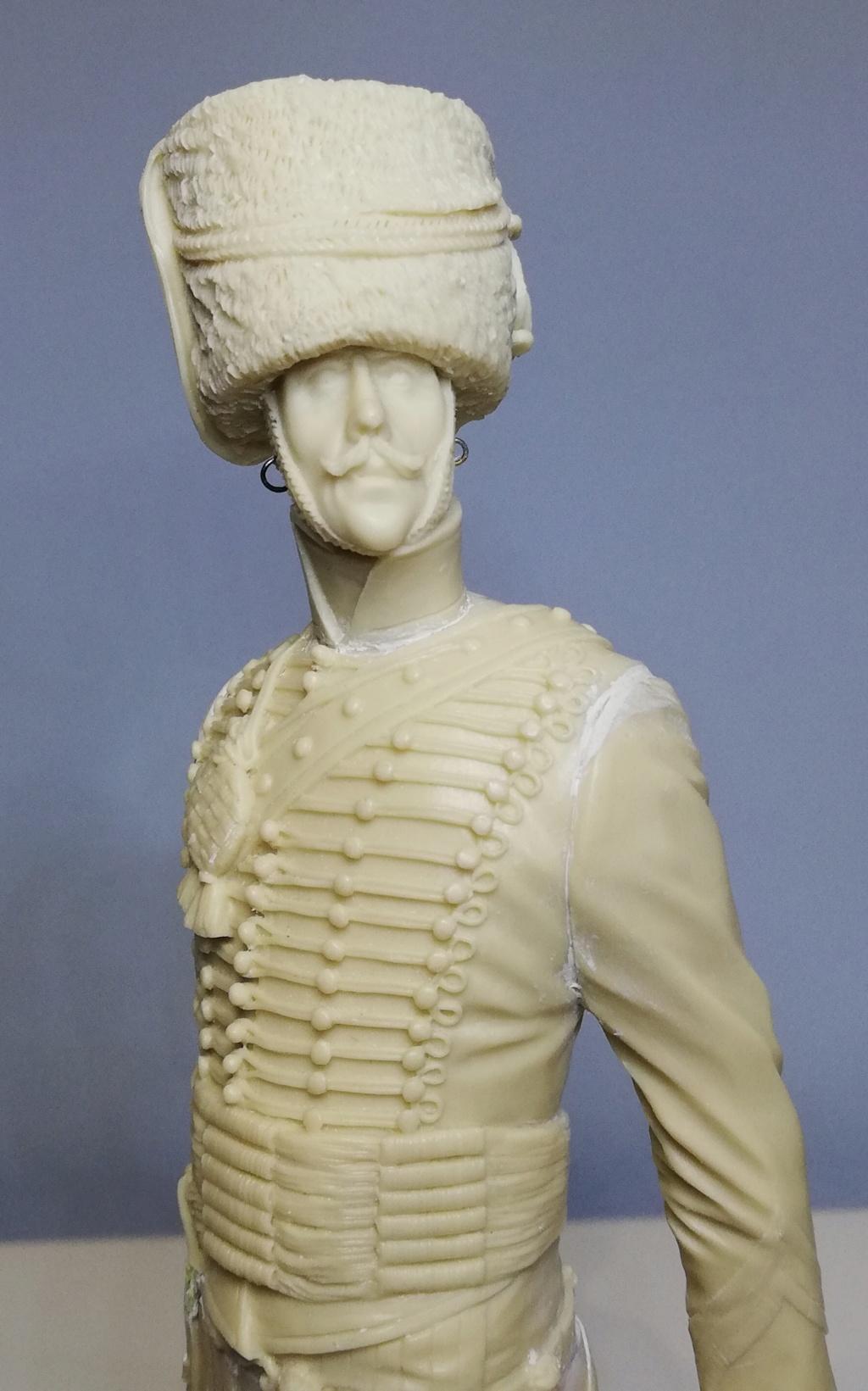 Capitaine du 2ème régiment de Hussards - première mise en peinture Capita17