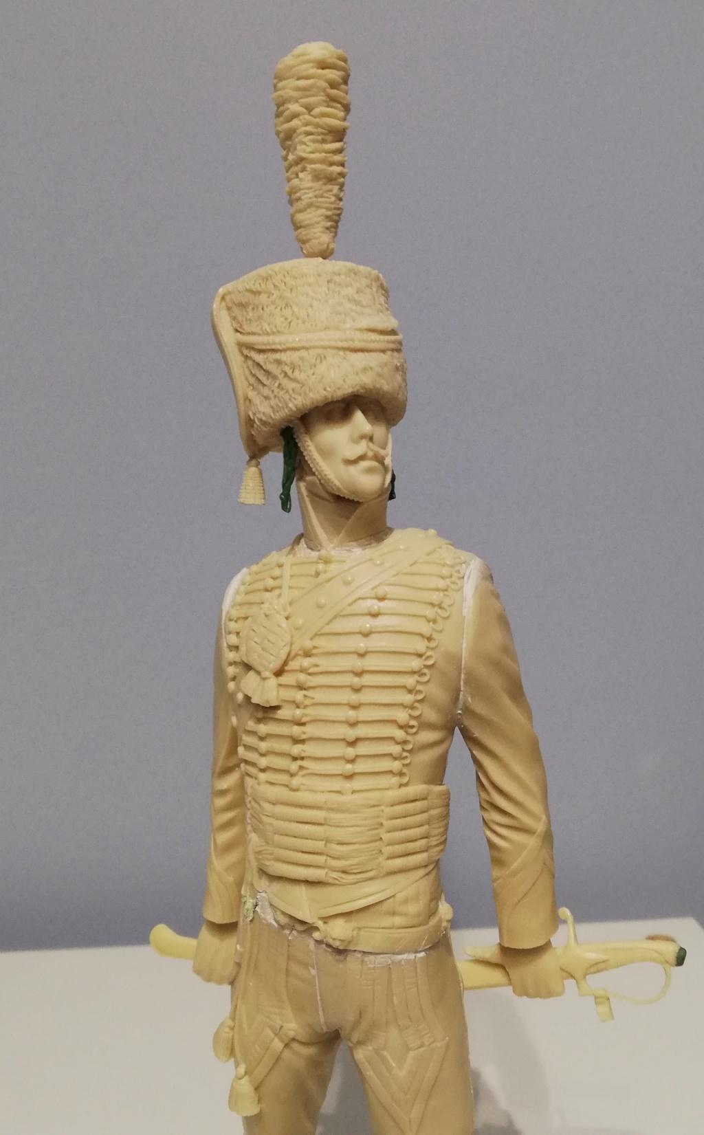 Capitaine du 2ème régiment de Hussards - première mise en peinture Capita19
