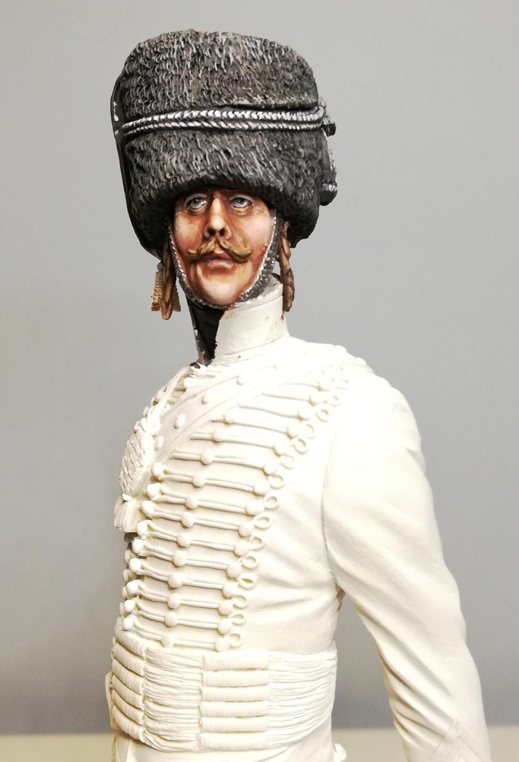 Capitaine du 2ème régiment de Hussards - première mise en peinture Capita22