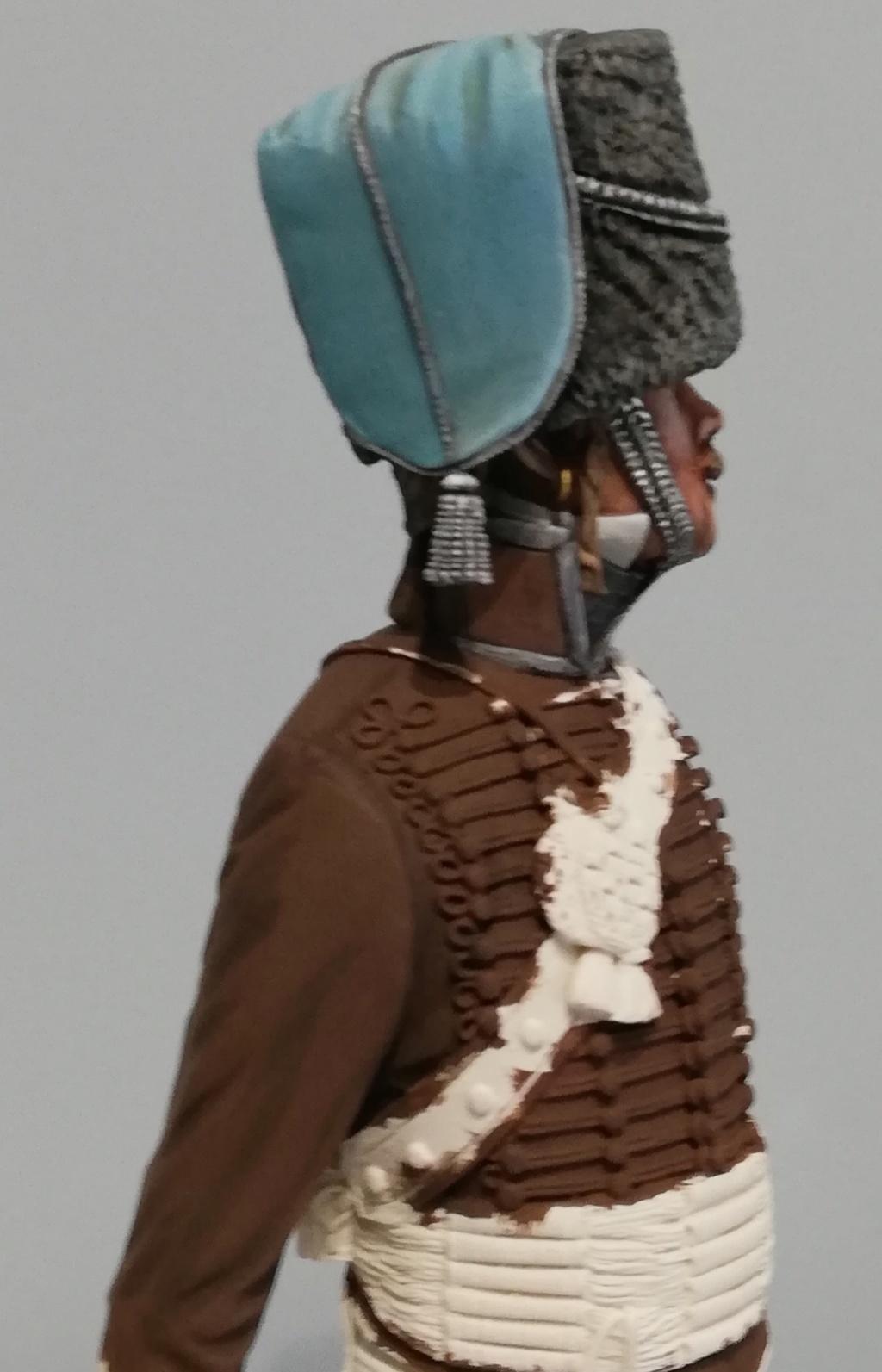 Capitaine du 2ème régiment de Hussards - première mise en peinture Capita25