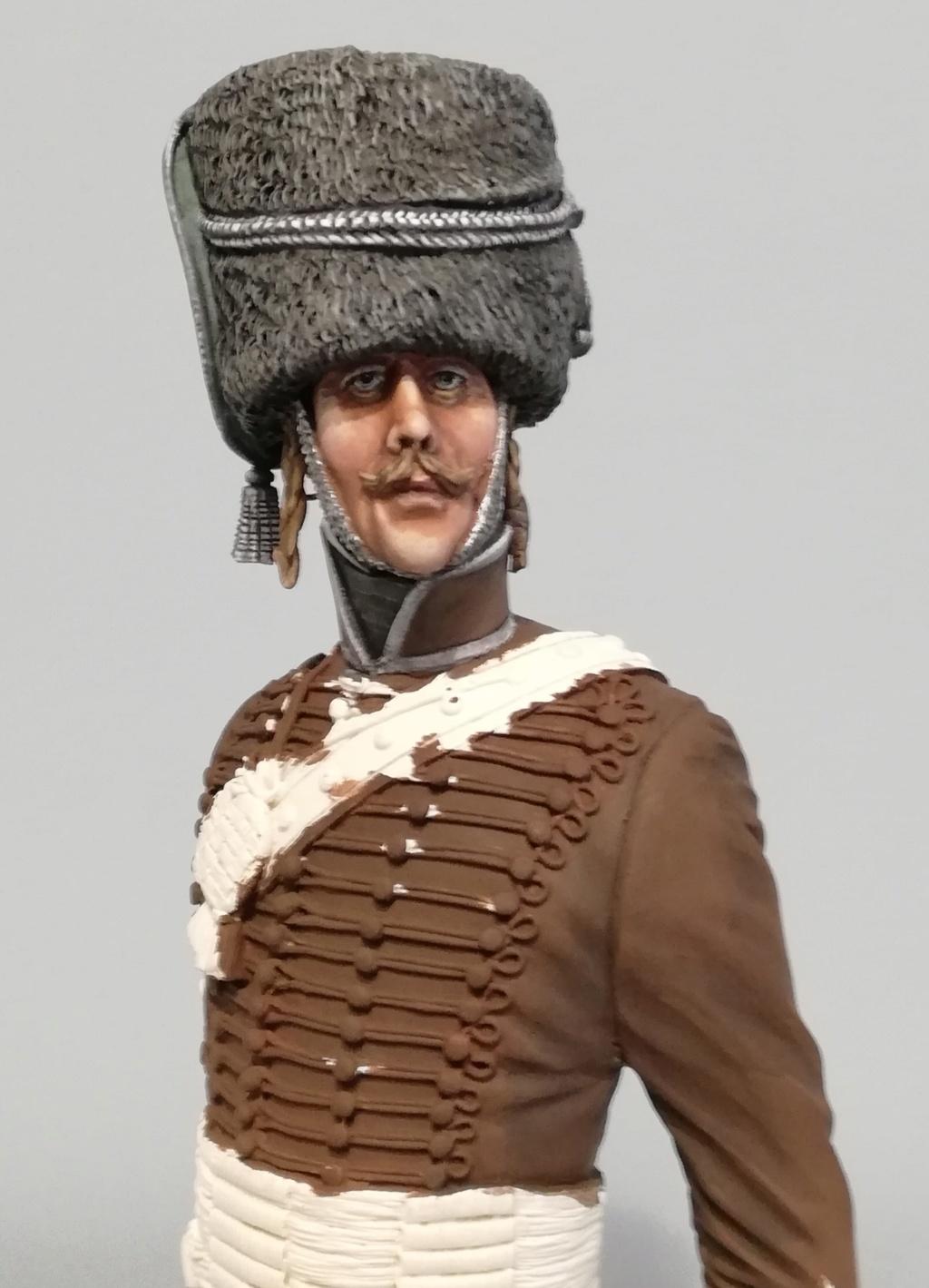 Capitaine du 2ème régiment de Hussards - première mise en peinture Capita26