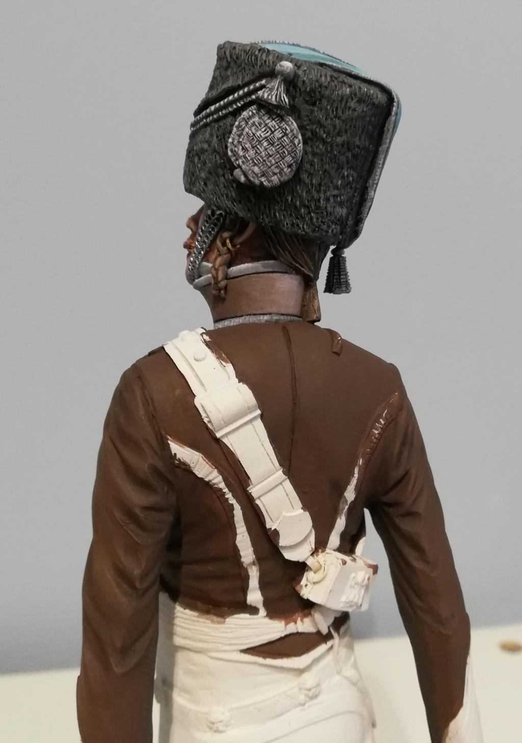 Capitaine du 2ème régiment de Hussards - première mise en peinture Capita27