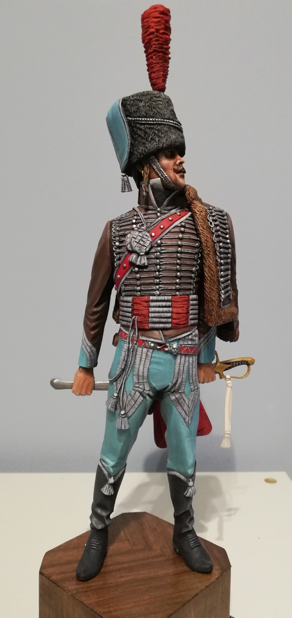 Capitaine du 2ème régiment de Hussards - Terminé - Page 3 Capita55