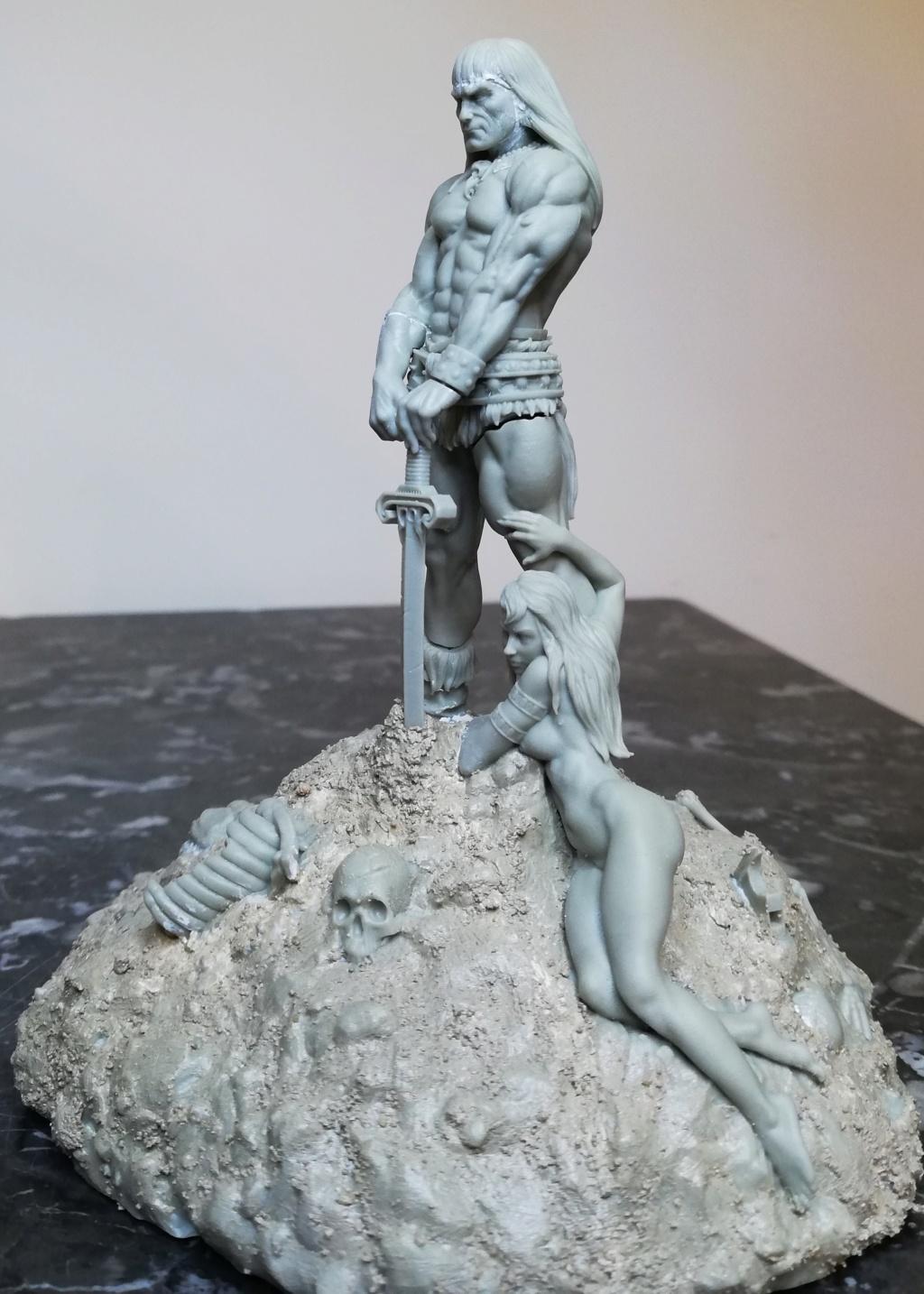 Conan, d'après Frazetta - Terminé Conan_15