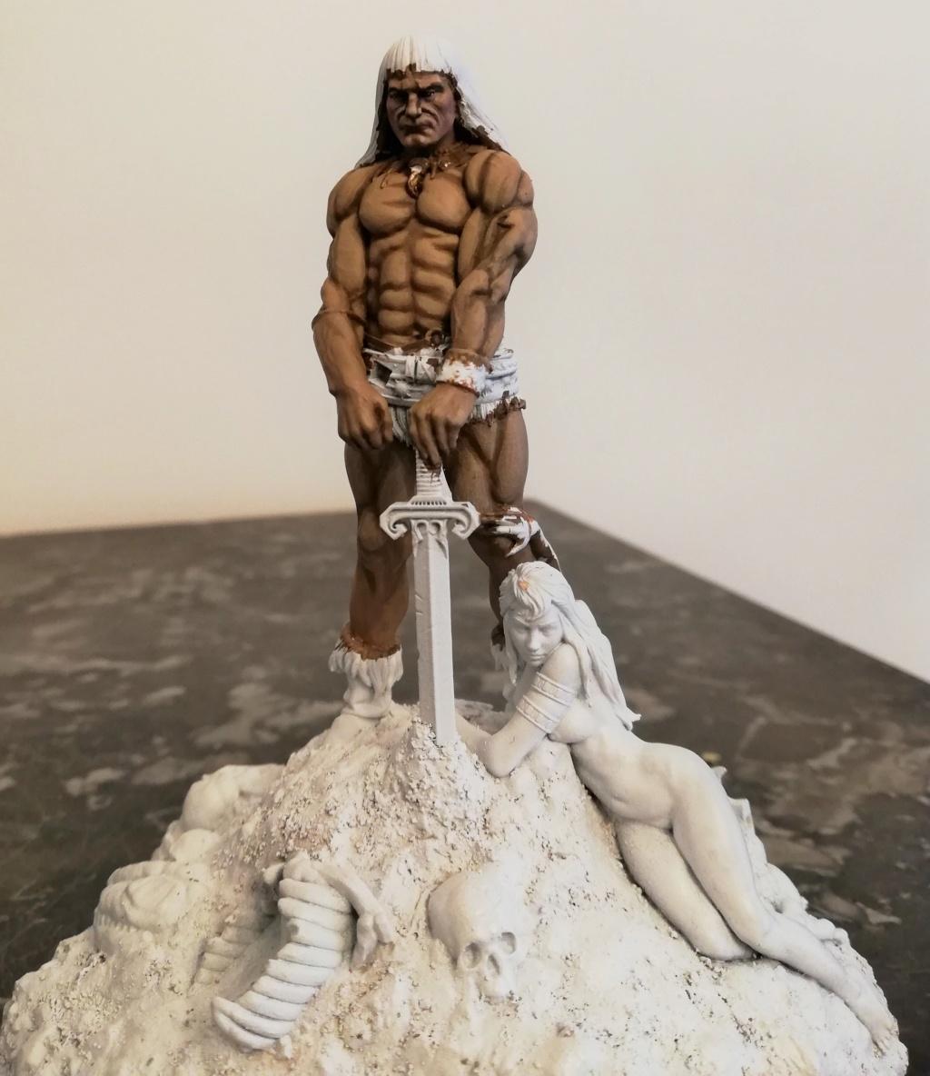 Conan, d'après Frazetta - Terminé Conan_22