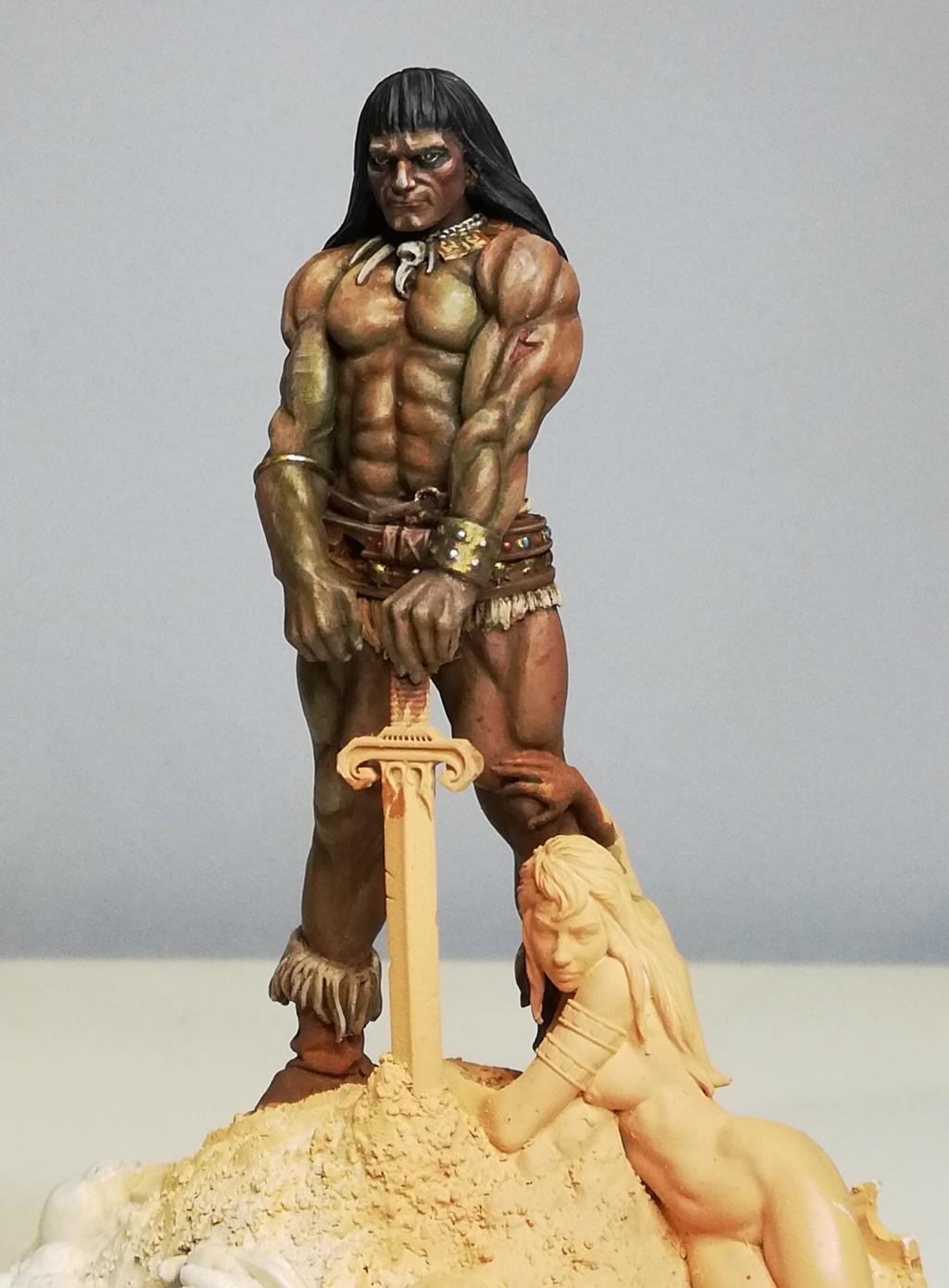 Conan, d'après Frazetta - Terminé Conan_25