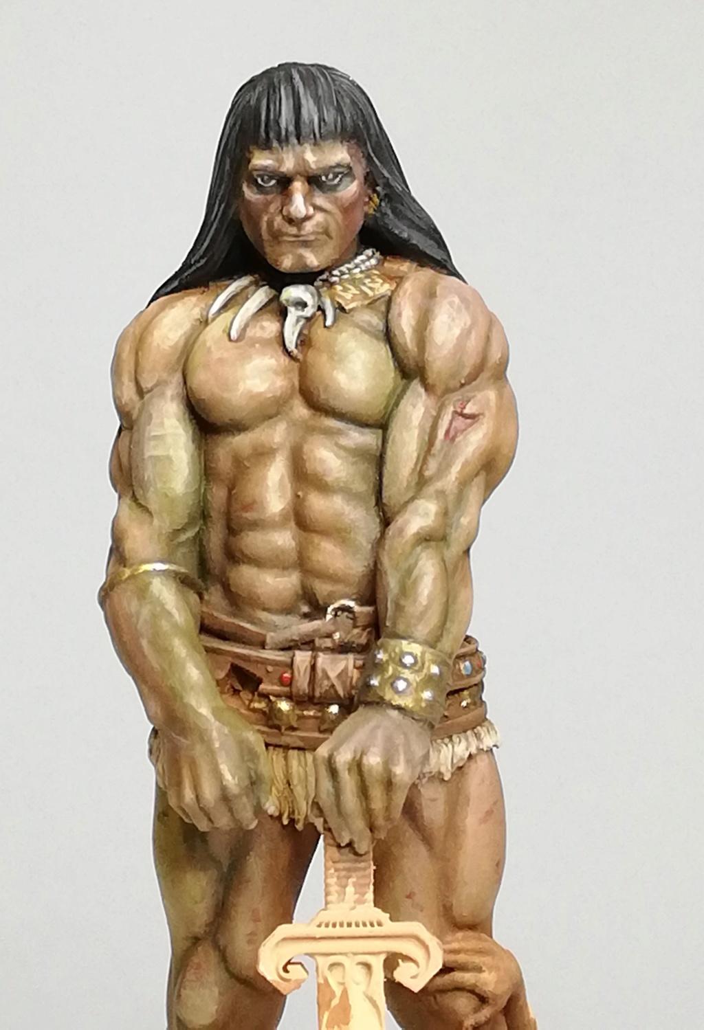 Conan, d'après Frazetta - Terminé Conan_27