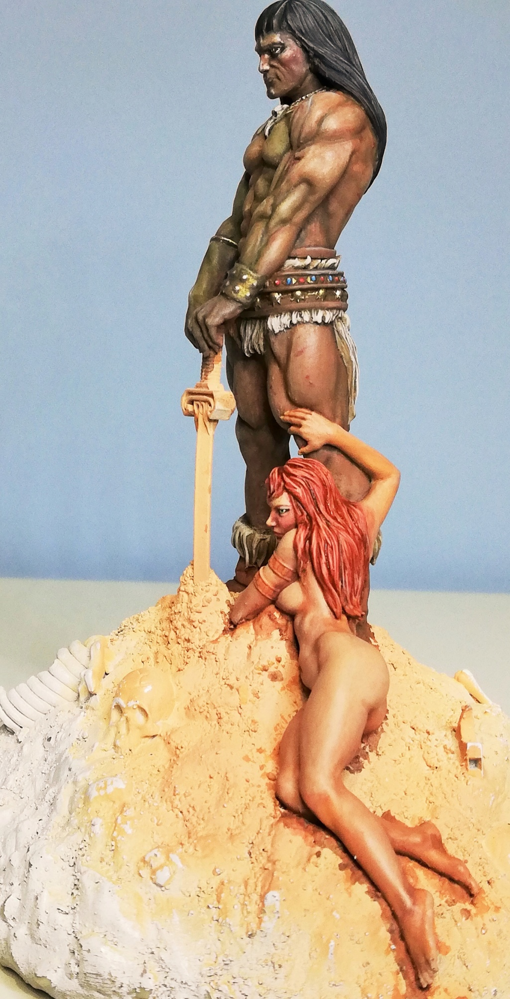 Conan, d'après Frazetta - Terminé Conan_31
