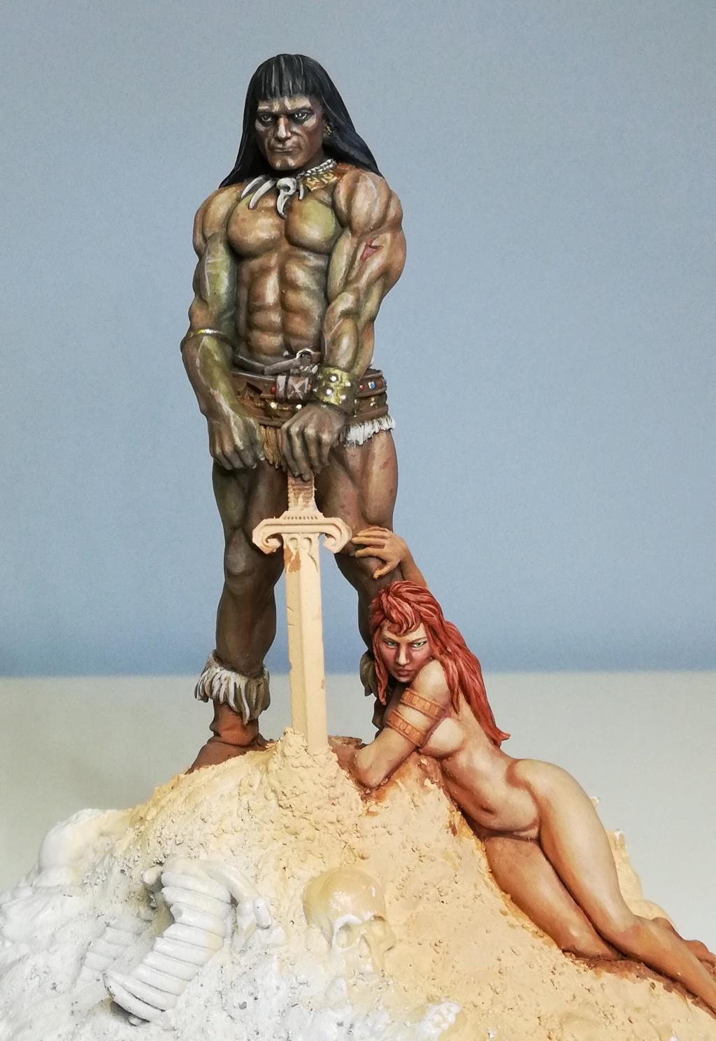 Conan, d'après Frazetta - Terminé Conan_32