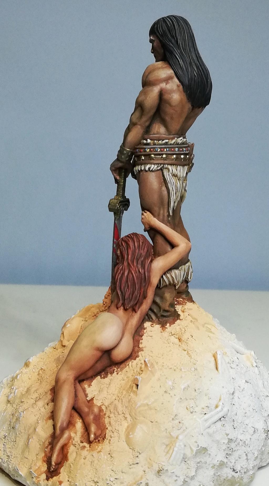 Conan, d'après Frazetta - Terminé Conan_35