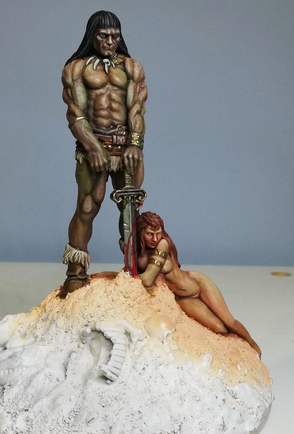 Conan, d'après Frazetta - Terminé Conan_36