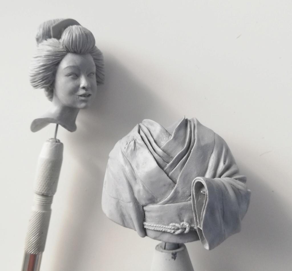 Buste de Geisha terminée - Dernières photos Geisha11