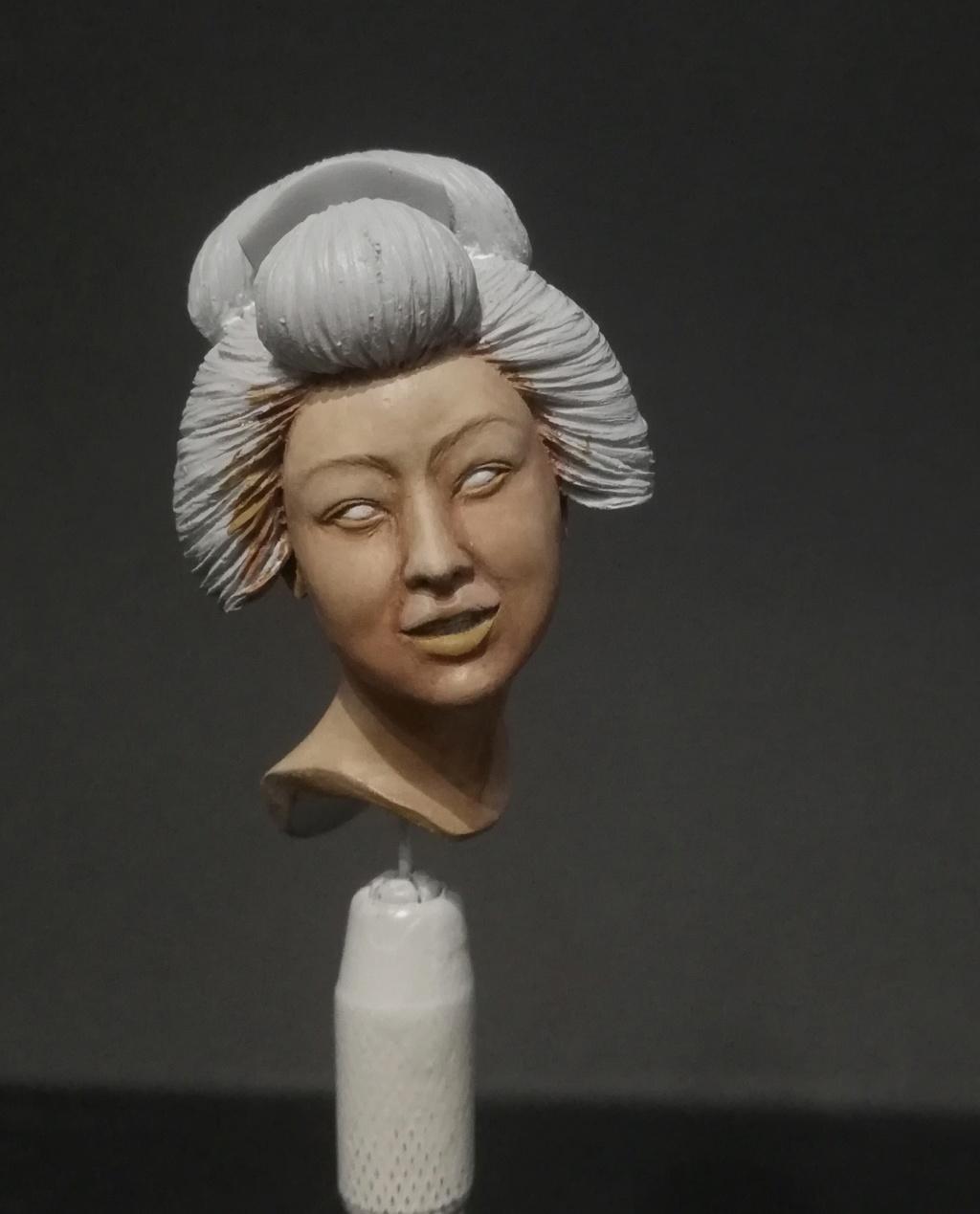 Buste de Geisha terminée - Dernières photos Geisha13