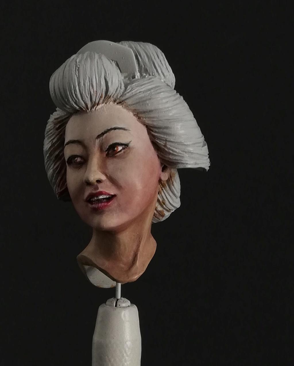 Buste de Geisha terminée - Dernières photos Geisha17