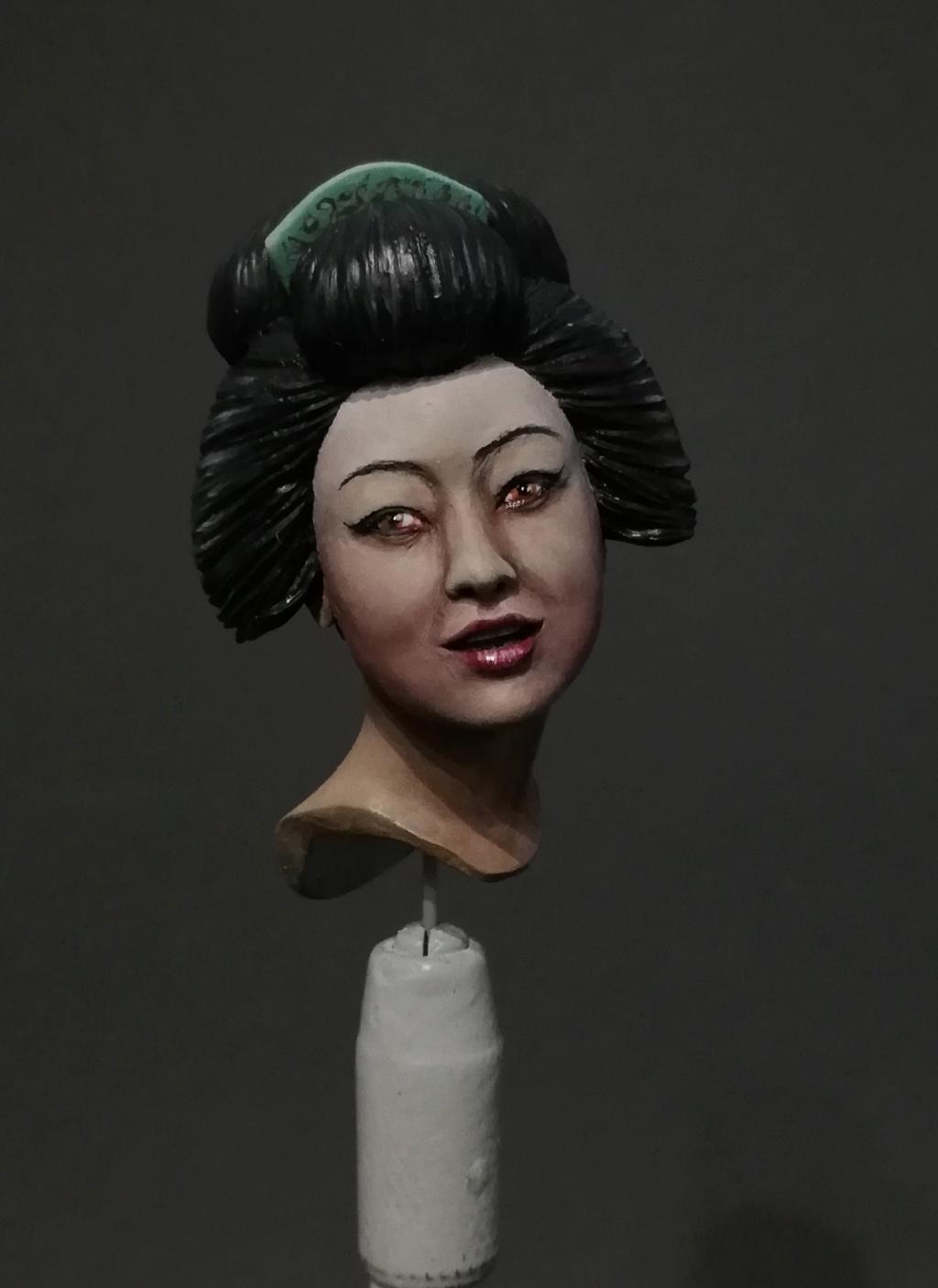 Buste de Geisha terminée - Dernières photos Geisha19