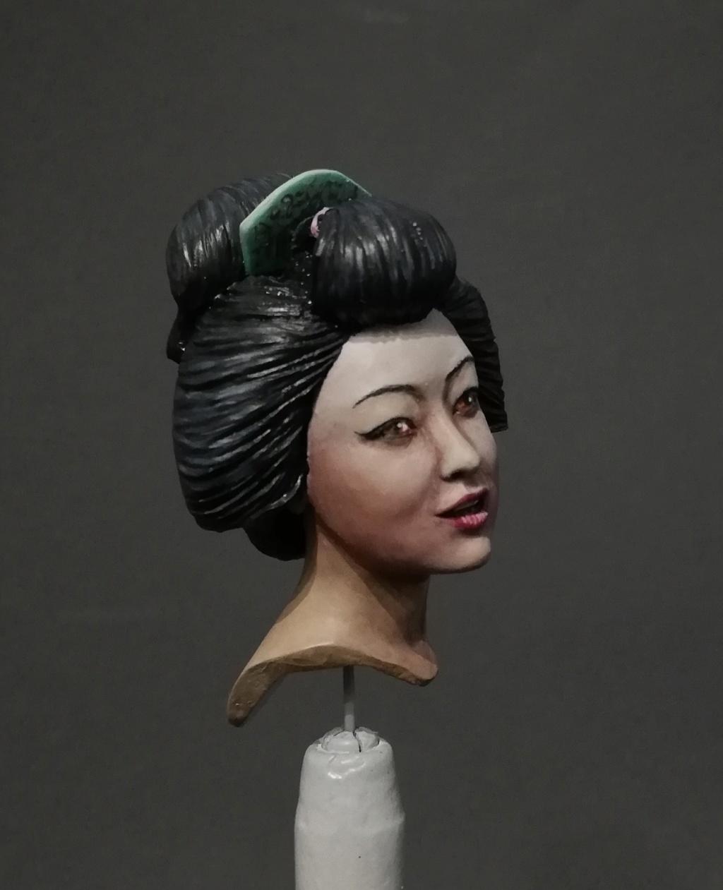 Buste de Geisha terminée - Dernières photos Geisha20