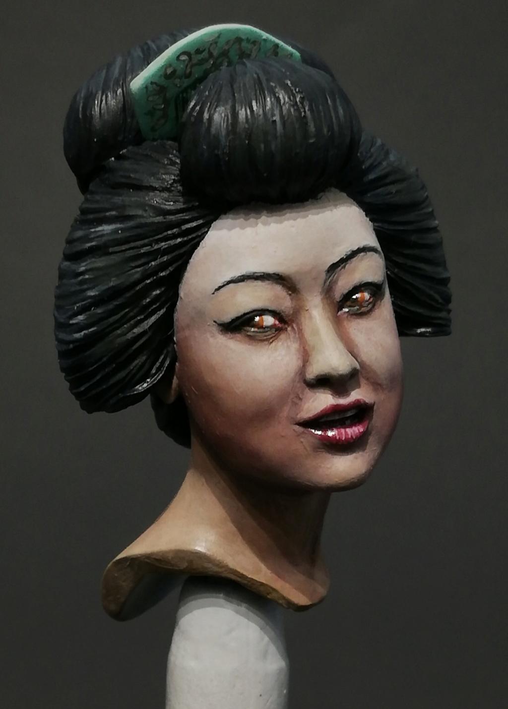 Buste de Geisha terminée - Dernières photos Geisha21