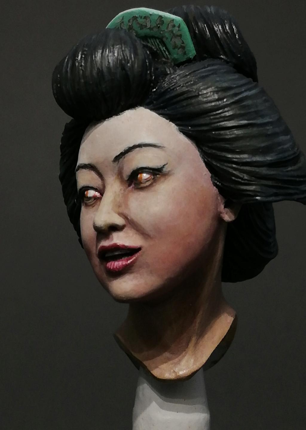 Buste de Geisha terminée - Dernières photos Geisha22