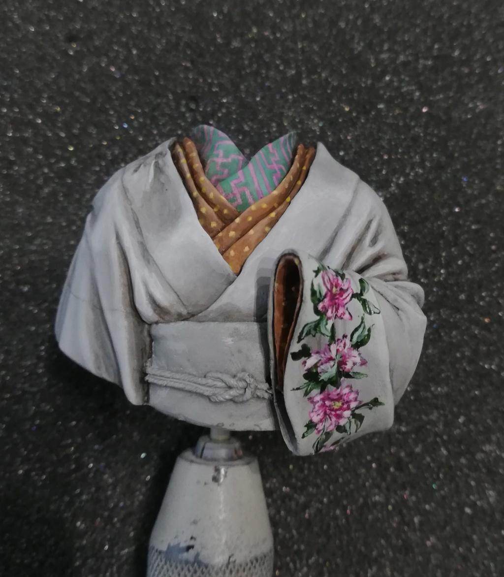 Buste de Geisha terminée - Dernières photos - Page 2 Geisha25