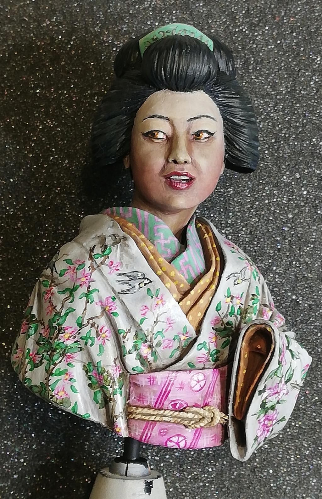 Buste de Geisha terminée - Dernières photos - Page 2 Geisha33