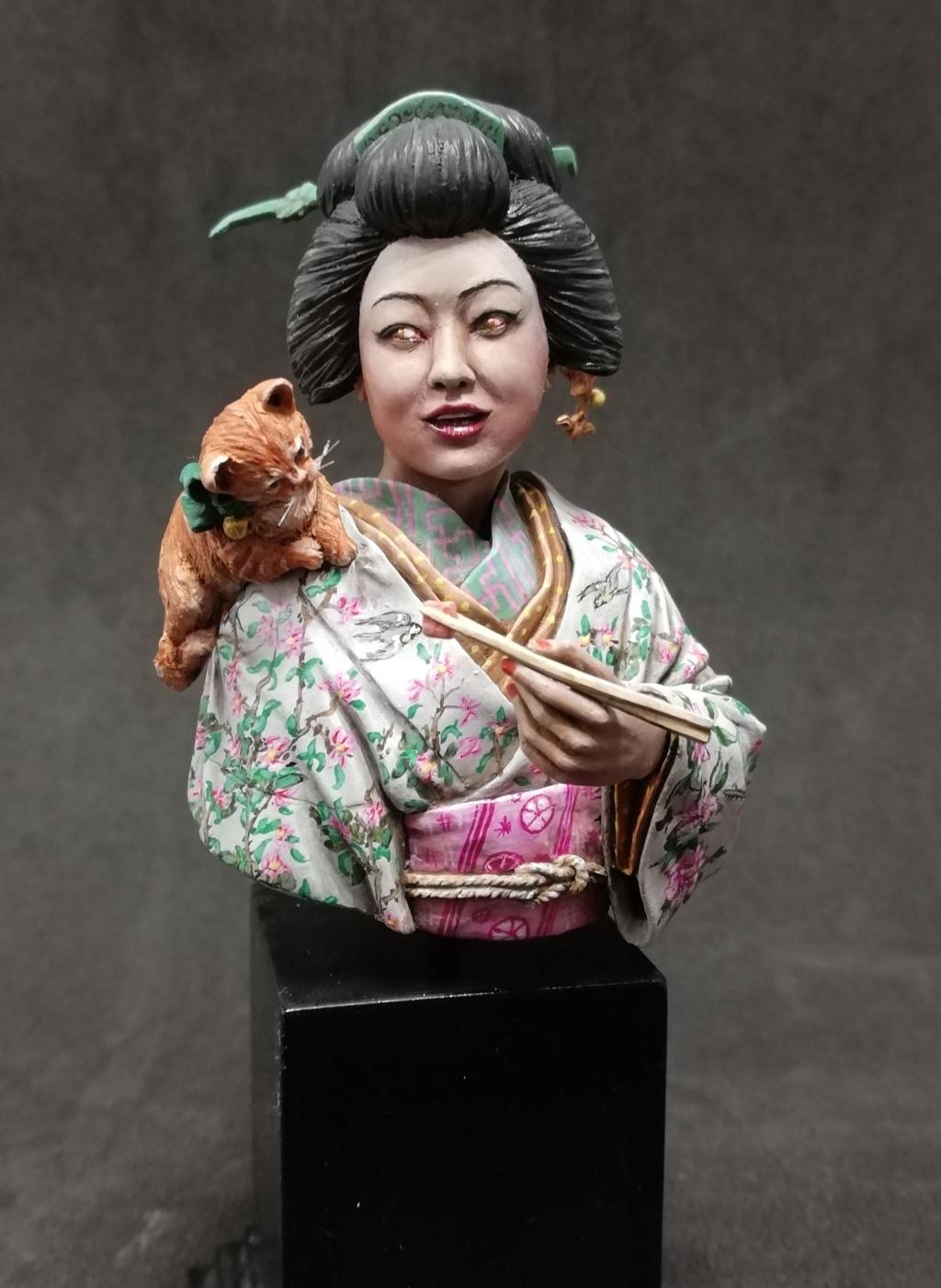 Buste de Geisha terminée - Dernières photos - Page 2 Geisha35