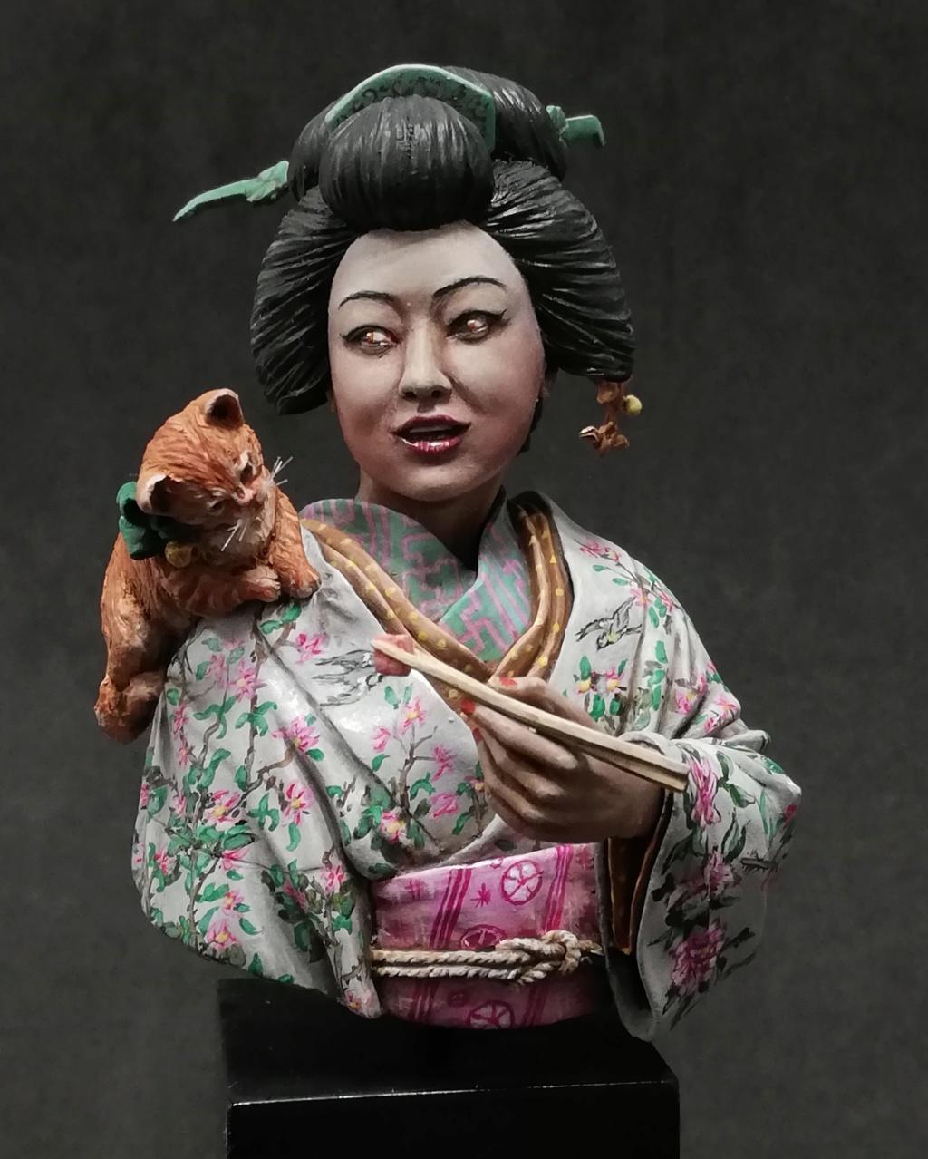 Buste de Geisha terminée - Dernières photos - Page 2 Geisha36