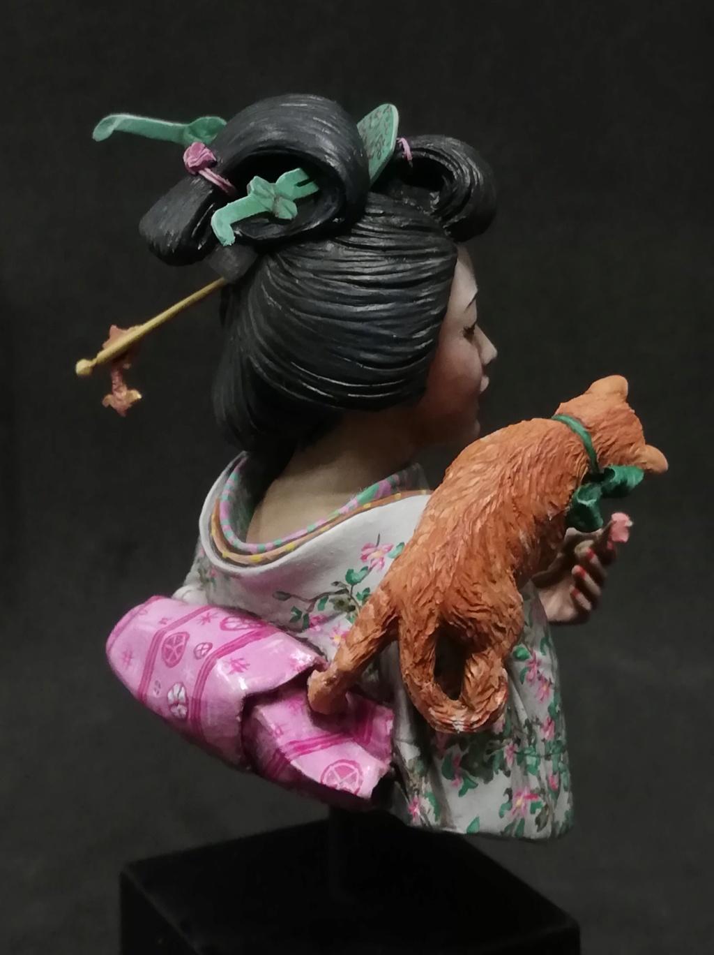Buste de Geisha terminée - Dernières photos - Page 2 Geisha38