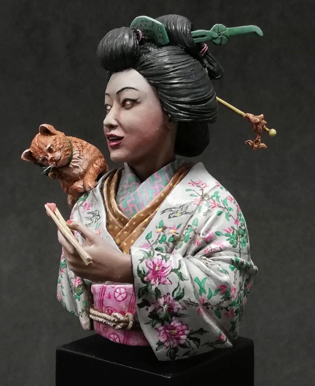Buste de Geisha terminée - Dernières photos - Page 2 Geisha39