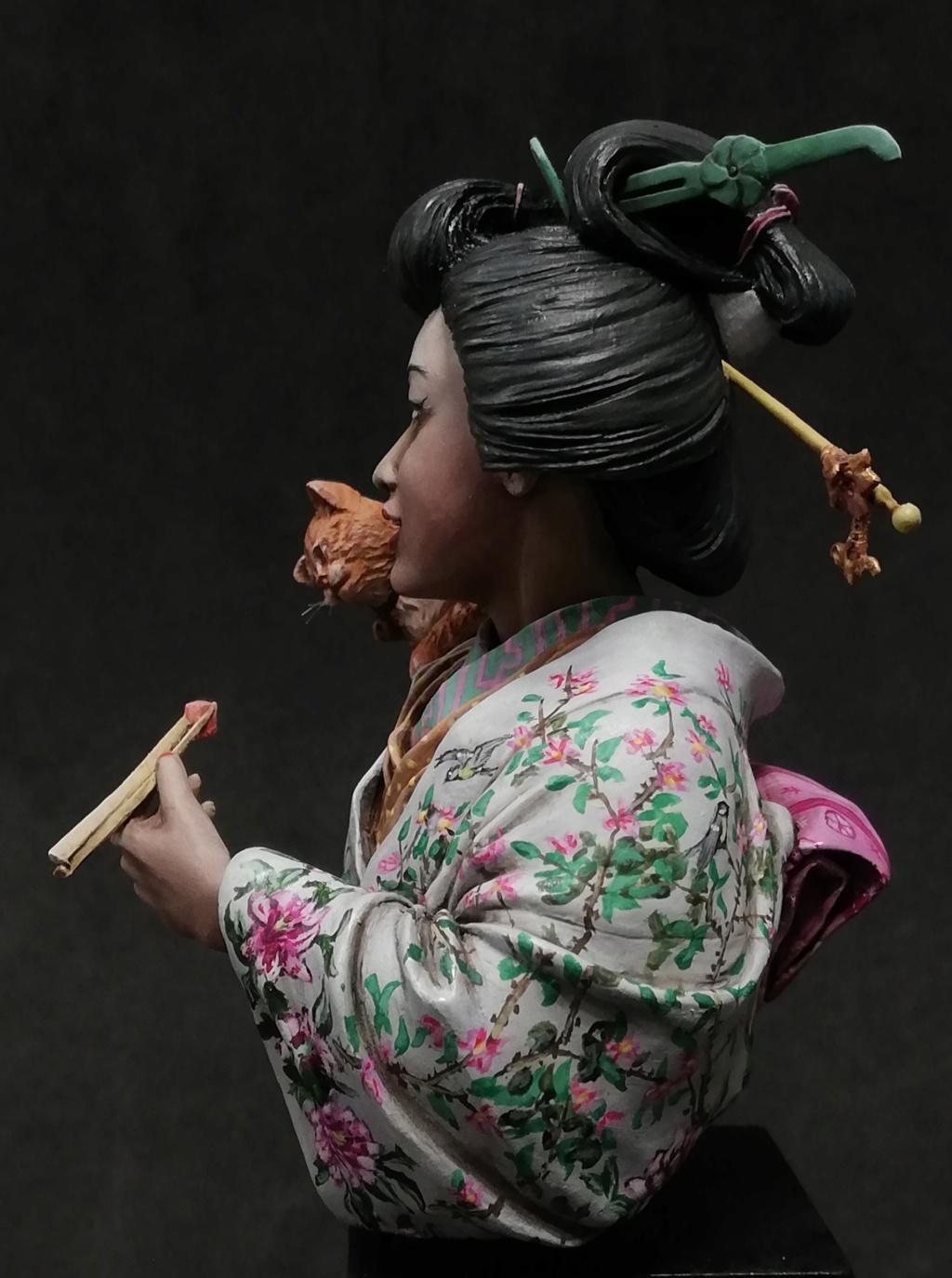 Buste de Geisha terminée - Dernières photos - Page 2 Geisha40