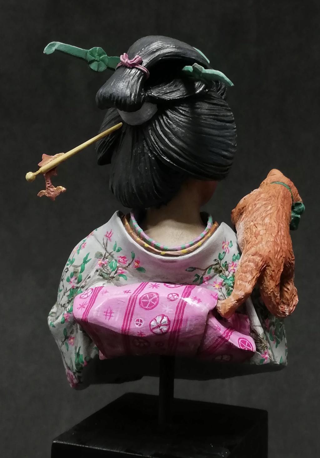 Buste de Geisha terminée - Dernières photos - Page 2 Geisha41
